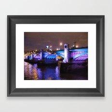 Southwark Bridge Framed Art Print