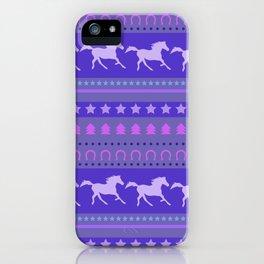 Horse Pattern iPhone Case