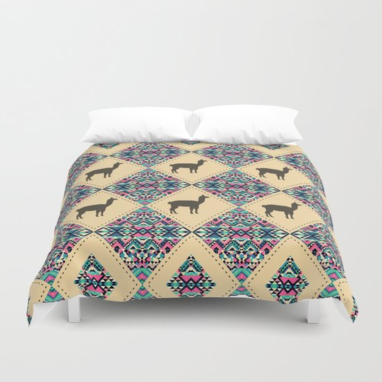 Andes pattern Duvet Cover