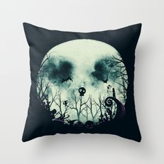 Halloween Town Throw Pillow
