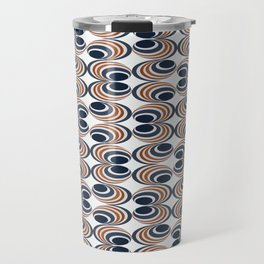 Clam Shell Waves III Travel Mug