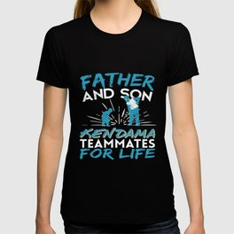 father and son Kendama T-shirt