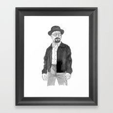 Heisenberg Framed Art Print