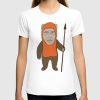 ewok T-shirts featuring Ewoken by Phil Jones