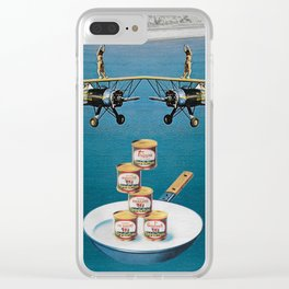 The famine Clear iPhone Case