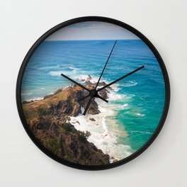Barbarous Coasts Wall Clock