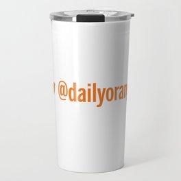 @DailyOrange Travel Mug