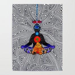 Divine meditation Poster