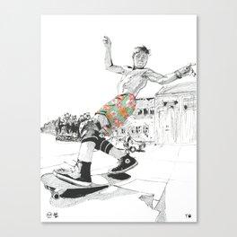 Rodney Mullen Canvas Print