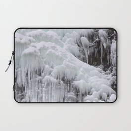 Cloaked in Ice II Laptop Sleeve