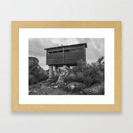 xcv Framed Art Print