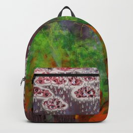 Partly Cloudy with Grey Eyes Backpack