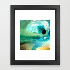 Peaceful Understanding - Abstract Art By Sharon Cummings Framed Art Print