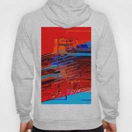 Cells Interlinked - Bold Red and Blue Hoody