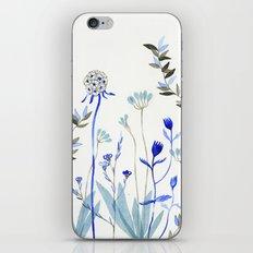Blue Garden iPhone & iPod Skin