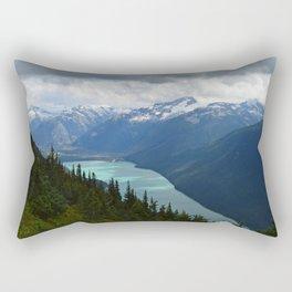 Whistler trails Rectangular Pillow