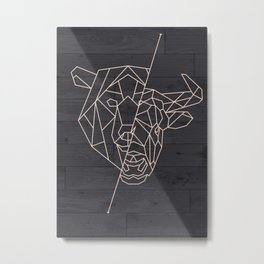 FINANCE BULL BEAR STOCK MARKET Metal Print