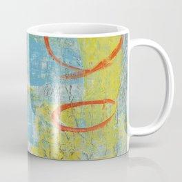 abstract 1 orange rising Coffee Mug