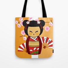 Kokeshi Ai  Tote Bag