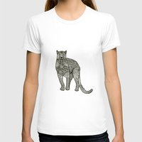 panther T-shirts featuring Panther by Janina Steger