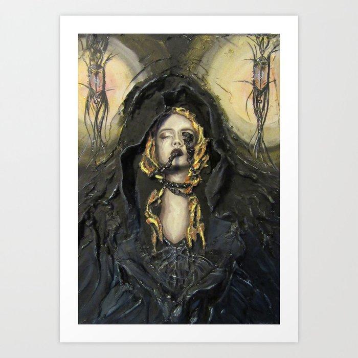 The Shroud Art Print