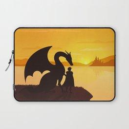 Dragon King Bakugo Landscape Laptop Sleeve