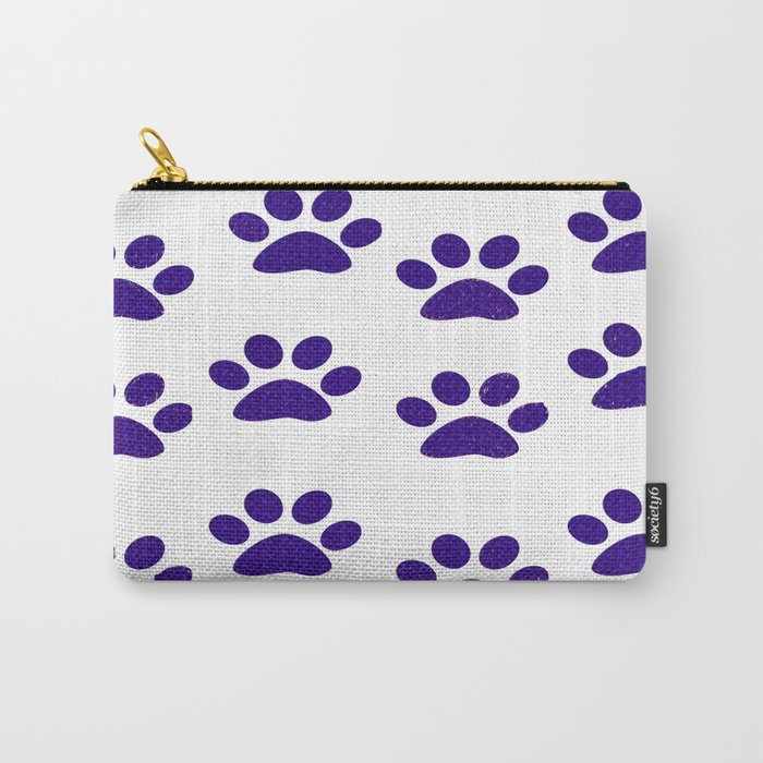 Purple Paws Carry-All Pouch