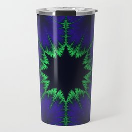 Fractal Compass Rose Travel Mug