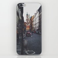 prague iPhone & iPod Skins featuring PRAGUE by REASONandRHYME