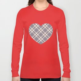 big light weave monochrome Long Sleeve T-shirt