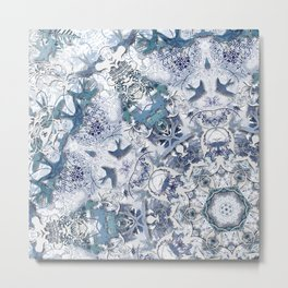 Blue Willow Metal Print