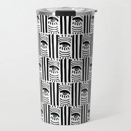Graphic Eyes Travel Mug