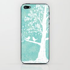 Birds in a Tree iPhone & iPod Skin