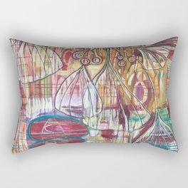 Cascading Ginkgo Rectangular Pillow