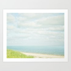 Cape Blue Art Print
