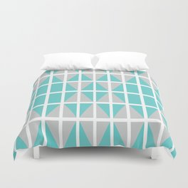 Triangle chaos Duvet Cover