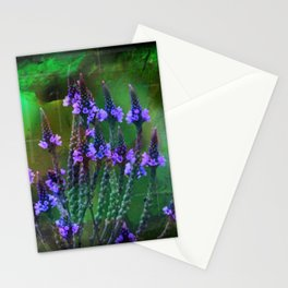 Flowers In A World Of Colors  Stationery Cards