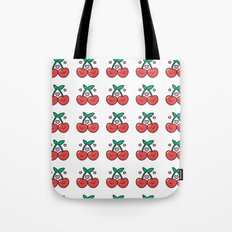 Cherry Pattern Tote Bag
