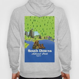 South Downs National Park England Hoody