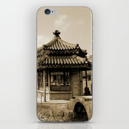 Japanese pavillion iPhone Skin