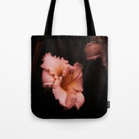 lily Tote Bags featuring Lily by Christine Belanger