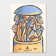 Mind Slime Canvas Print