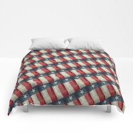 Vintage Texas flag pattern Comforters