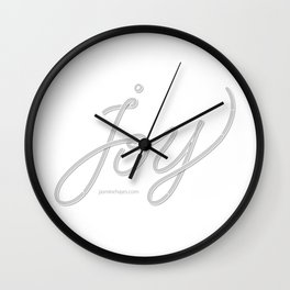 Joy – Ghost Wall Clock