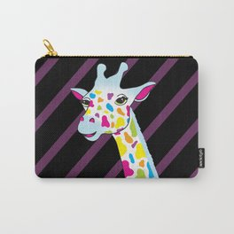 Rainbow Giraffe Carry-All Pouch