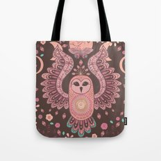 The Owl, The Moon & The Butterfly Tote Bag
