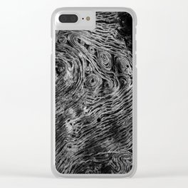 Twists & Turns Clear iPhone Case