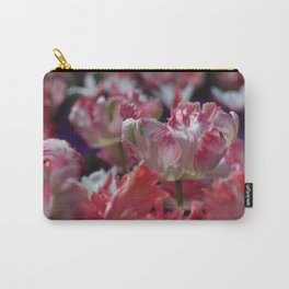 Candy Parrot Tulips Carry-All Pouch