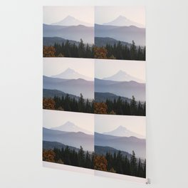 Mount Hood over the Columbia River Gorge Wallpaper