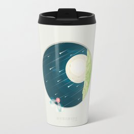 Where nature ends Travel Mug